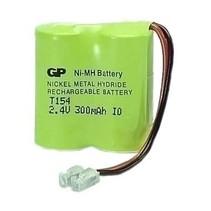 Draadloze Telefoonbatterij 2,4V 300mAh - T154