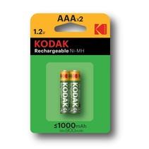 Kodak AAA Oplaadbare batterijen 1000Mah - 2 stuks