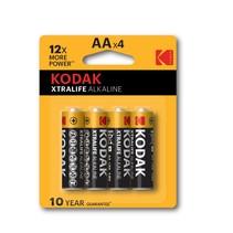 Kodak AA Penlite Xtralife  alkaline 4  stuks