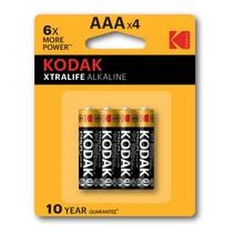 AAA mini-Penlite  XtraLife 4 stuks batterijen Kodak