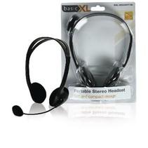 Headset On-Ear 2x 3.5 mm Ingebouwde Microfoon 2.0 m Zwart