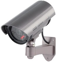Bullet Dummy Camera IP44 Grijs