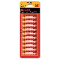 Kodak AA 10 x Super Heavy Duty batterijen