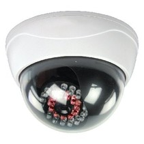 Dome Dummy Camera IP44 Wit