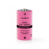Lithium 1/2 AA - 3.6 V 1200 mAh (14250)