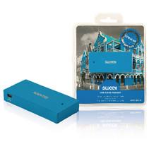 Kaartlezer Multi Card USB 2.0 Blauw