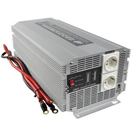 HQ Gemodificeerde Sinus Omvormer 24 VDC - AC 230 V 2500 W F (CEE 7/3)