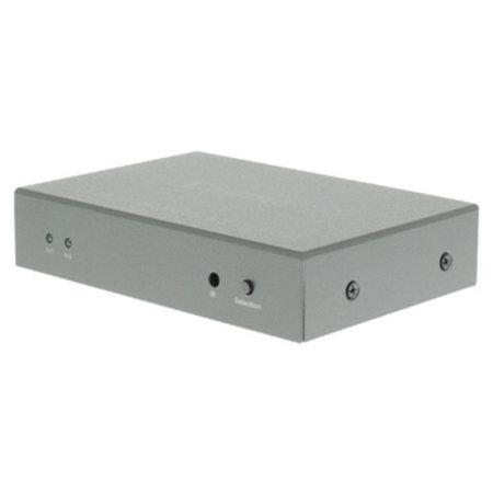 König 2-Poorts HDMI Schakelaar Donkergrijs