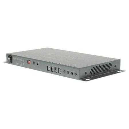 König 4 x 4-Poorts HDMI Matrix Donkergrijs