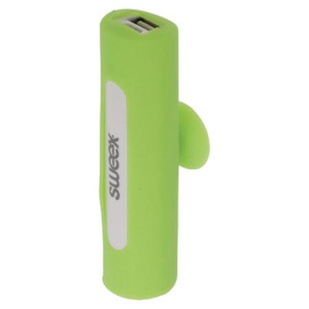 Sweex Draagbare Powerbank Lithium-Ion 2500 mAh USB Groen