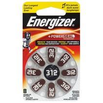 312 bruin 8x  hoortoestel batterijen Energizer