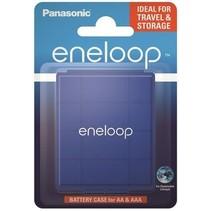 Batterij bewaar doosje  blauw 4 stuks - Eneloop
