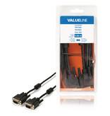 Valueline VGA Kabel VGA Male - VGA Male 5.00 m Zwart
