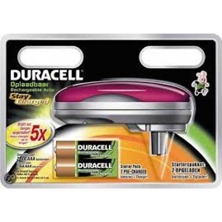 Duracell Duracell Mini Lader inc 2 x AA CEF20