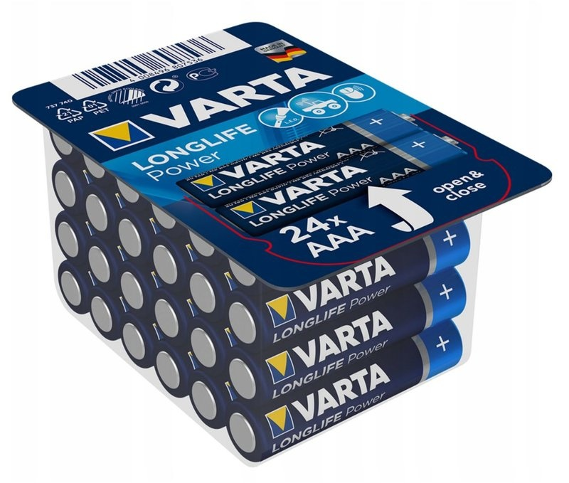 Varta AAA mini-Penlite 24 stuks batterijen varta