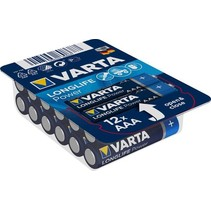 AAA mini-Penlite 12 stuks batterijen Longlife Power