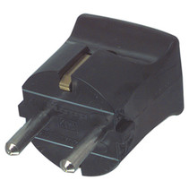 AC-Voedingsstekker Schuko / Type F (CEE 7/7) 16 A Zwart