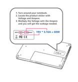 Valueline Notebookadapter 15 / 24 VDC 120 W