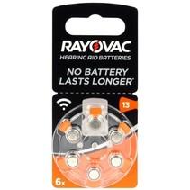 Acoustic Special 13 Rayovac PR48 Batterijen