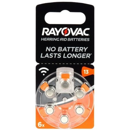Rayovac Rayovac Acoustic Special 13 PR48 Batterijen