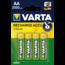 Varta VARTA AA oplaadbare batterijen 2100mah -4 stuks
