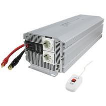 Inverter Gemodificeerde Sinusgolf 24 VDC - AC 230 V 4000 W F (CEE 7/3)