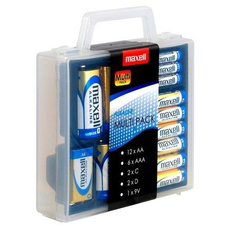 Maxell Multi Pack Alkaline batterijen Maxell