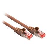 Valueline CAT6 S/FTP Netwerkkabel RJ45 (8/8) Male - RJ45 (8/8) Male 20.0 m Bruin