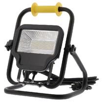 Mobiele LED Floodlight 50 W 4000 lm Zwart