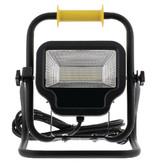 König Mobiele LED Floodlight 50 W 4000 lm Zwart