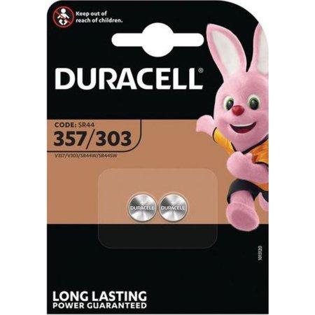 Duracell Duracell 357 / 303 - 2 stuks