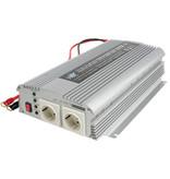 HQ Inverter Gemodificeerde Sinusgolf 12 VDC - AC 230 V 1000 W F (CEE 7/3)