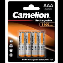 Camelion AAA mini penlite 1100mAh oplaadbaar 4 stuks