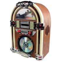 Tafelradio Jukebox FM / AM CD Bruin