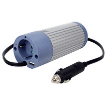 Inverter Gemodificeerde Sinusgolf 12 VDC - AC 230 V 100 W F (CEE 7/3) / USB