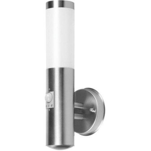 Ranex Wandlamp Buiten 20 W Incl. Bewegingssensor Geborsteld Staal