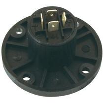 Connector Speaker 4-Pin Female Zwart