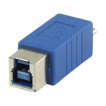 USB 3.0-Adapter Micro-B Male - B Female Blauw