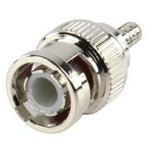 Verloopstekker CCTV-Security BNC 2.55 mm Male Zilver