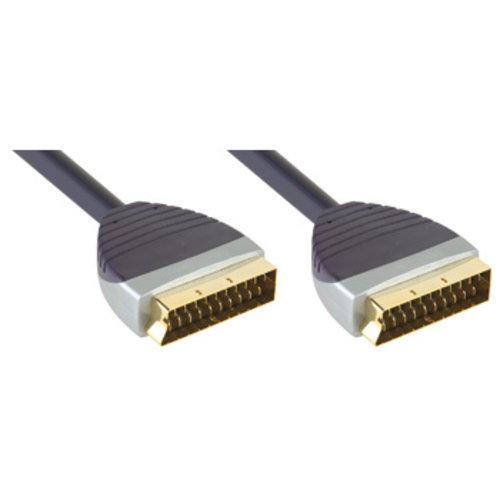 Bandridge SCART Kabel SCART Male - SCART Male 2.00 m Zwart