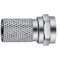 F-Connector 7 mm Male Zilver