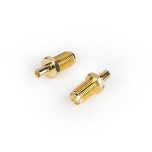 Valueline SMA-Adapter SMA Female - TS9 Goud