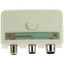CATV-Splitter / 5-1000 MHz - 3