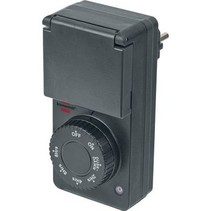 Timer with twilight sensor | IP 44 | 1800 W
