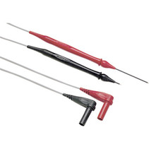Retractable tip test lead set, red/black