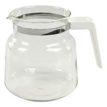 Glazen Kan 1.2 l Wit