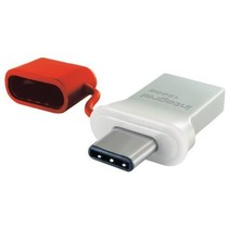 USB Stick USB 3.0 128 GB Aluminium/Rood
