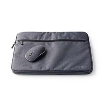 Notebookhoes | 15 - 16 inch | 1600 dpi Muis | 210D Polyester | Zwart