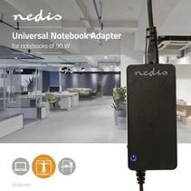 Notebook-Adapter   Universeel met 10 Stekkers   90 W   Uitgang 15 V - 19,5 V