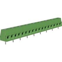 PCB Terminal Block Toonhoogte 10 mm Horizontaal 9P